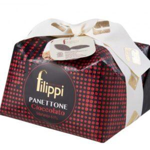 Panettone con Cioccolato Maranta 1 Kg Filippi