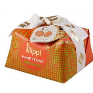 Panettone con Albicocche 1 Kg Filippi